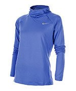 bluza do biegania damska NIKE ELEMENT HOODY / 685818-478