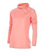 bluza do biegania damska NIKE ELEMENT HOODY / 685818-808
