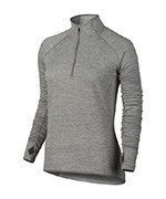 bluza do biegania damska NIKE ELEMENT SPHERE 1/2 ZIP / 686963-042