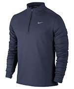 bluza do biegania męska NIKE DRI-FIT THERMAL HALF ZIP / 683580-410