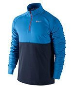 bluza do biegania męska NIKE RACER 1/2 ZIP TOP / 648588-436