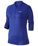bluza tenisowa damska NIKE TOP BASELINE 3/4 PRINT / 852701-452