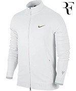 bluza tenisowa męska NIKE PREMIER RF COVER-UP Roger Federer  Wimbledon 2014