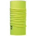 chusta do biegania BUFF HIGH UV PROTECTION BUFF SOLID YELLOW FLUOR / 111426.117