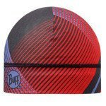 czapka do biegania BUFF MICROFIBER 1 LAYER HAT BUFF NEW RETRO LINES / 113247.425.10.00