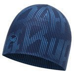 czapka dwustronna do biegania BUFF COOLMAX REVERSIBLE HAT BUFF R-DEEP LOGO DARK / 113675.790.10