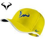czapka tenisowa NIKE RAFA FEATHERLIGHT CAP Rafael Nadal / 715146-741