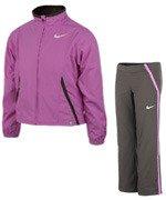 dres tenisowy dziewczęcy NIKE POWER WARM UP / 522104-508