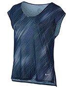 koszulka do biegania damska NIKE BREATHE TOP SHORT SLEEVE COOL / 831877-429