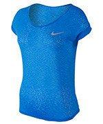 koszulka do biegania damska NIKE DRI-FIT COOL SHORT SLEEVE / 719870-435
