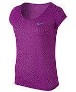 koszulka do biegania damska NIKE DRI-FIT COOL SHORT SLEEVE / 719870-556