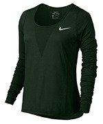 koszulka do biegania damska NIKE ZONAL COOLING RELAY TOP LONG SLEEVE / 831514-010