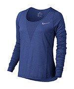 koszulka do biegania damska NIKE ZONAL COOLING RELAY TOP LONG SLEEVE / 831514-478