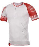 koszulka do biegania kompresyjna męska COMPRESSPORT TRAIL RUNNING SHIRT SS / 130218-068