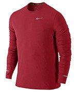 koszulka do biegania męska NIKE DRI-FIT CONTOUR LONGSLEEVE / 683521-658