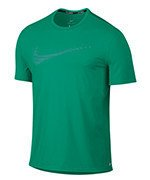 koszulka do biegania męska NIKE DRI-FIT CONTOUR RUNNING TOP SHORT SLEEVE / 800812-351