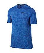 koszulka do biegania męska NIKE DRI-FIT KNIT TOP SHORT SLEEVE / 833562-432