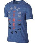 koszulka do biegania męska NIKE RUN HUSTLE TEE / 776634-456