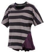 koszulka sportowa Stella McCartney ADIDAS STUDIO STRIPED TEE / M60454