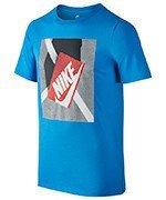 koszulka sportowa chłopięca NIKE TEE SHORT SLEEVE SHOE BOX / 838795-435