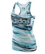 koszulka sportowa damska ADIDAS ESSENTIALS TANK ALLOVER PRINTED / AY4818