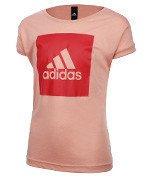 koszulka sportowa dziewczęca ADIDAS LOGO LOOSE TEE / BP8610