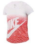 koszulka sportowa dziewczęca NIKE TRIBLEND FUTURA PRINT TEE / 828454-100