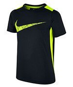 koszulka tenisowa chłopięca NIKE DRY TOP SHORT SLEEVE LEGACY / 803999-010