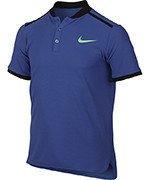 koszulka tenisowa chłopięca NIKE POLO ADVANTAGE SHORT SLEEVE / 832531-478