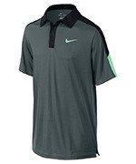 koszulka tenisowa chłopięca NIKE TEAM COURT POLO / 642071-392