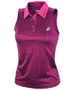 koszulka tenisowa damska ASICS CLUB SLEEVE LESS POLO / 130252-0185