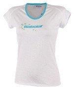 koszulka tenisowa damska BABOLAT TEE CORE / 41F1572-101