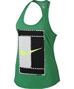 koszulka tenisowa damska NIKE DRY TANK LOGO / 831474-324