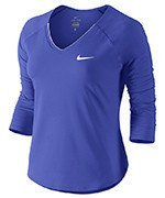 koszulka tenisowa damska NIKE PURE TOP / 728791-452