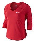 koszulka tenisowa damska NIKE PURE TOP / 728791-653