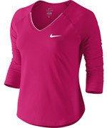 koszulka tenisowa damska NIKE PURE TOP / 728791-675