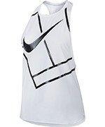koszulka tenisowa damska NIKE TANK BASELINE / 831195-100