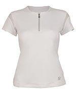 koszulka tenisowa damska SOFIBELLA CLASSIC SHORT SLEEVE / 1707