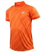 koszulka tenisowa męska ASICS CLUB GRAPHIC SHORT SLEEVE POLO / 130237-0180