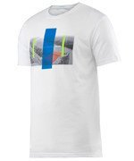 koszulka tenisowa męska HEAD TRANSITION DC2 GRAPHIC T-SHIRT / 811546 WH