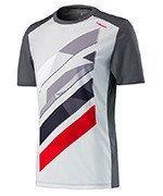 koszulka tenisowa męska HEAD VISION STRIPED SHIRT / 811317 AN