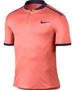 koszulka tenisowa męska NIKE ADVANTAGE POLO SOLID / 729384-890