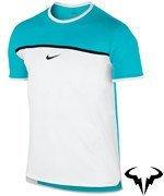 koszulka tenisowa męska NIKE CHALLENGER PREMIER RAFA CREW / 728956-429