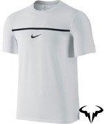 koszulka tenisowa męska NIKE CHLLNGR PREMIER RAFA CREW Wimbledon 2015 / 646097-100