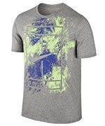 koszulka tenisowa męska NIKE COURT DRY TENNIS TEE / 831490-063