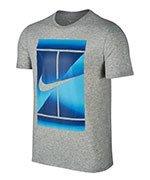 koszulka tenisowa męska NIKE DRY TENNIS TEE / 871732-050