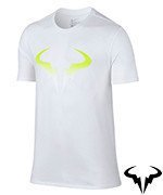koszulka tenisowa męska NIKE RAFA POP T-SHIRT / 803884-100