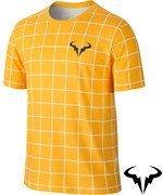 koszulka tenisowa męska NIKE RAFA SHORTSLEEVE CREW TEE / 739475-101