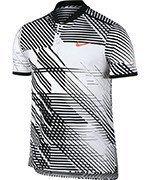 koszulka tenisowa męska NIKE RF ADVANTAGE POLO PREMIER / 830905-100