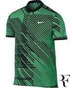 koszulka tenisowa męska NIKE RF ADVANTAGE POLO PREMIER / 830905-324